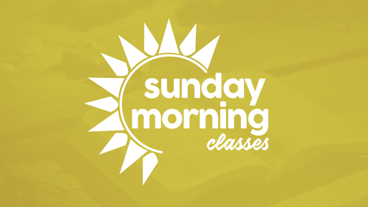 Sunday Morning Classes for Adults: Summer Session logo image