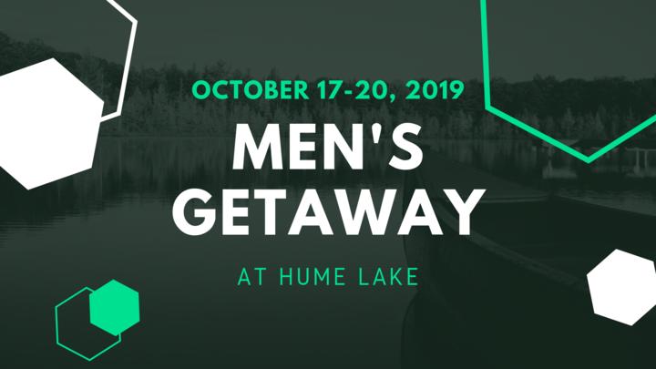 Men's Getaway 2019 at Hume Lake logo image