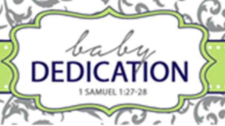 Labor Day Baby Dedication - Columbia Campus logo image