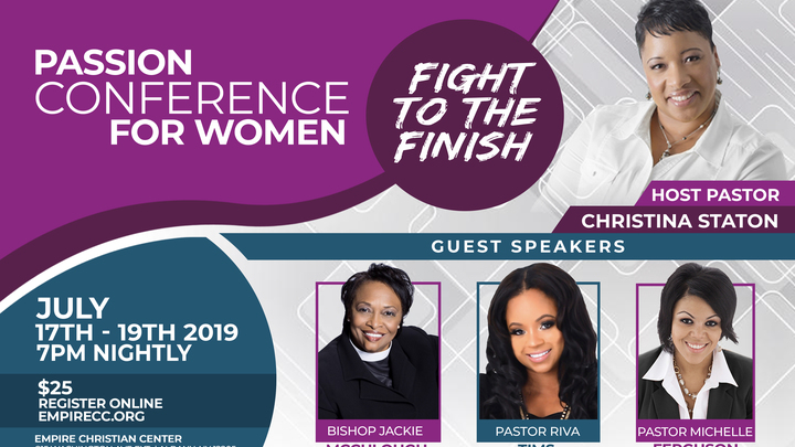 2019 Passion Conference for Women  logo image