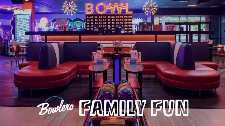 Family Fun Day: Bowlero logo image