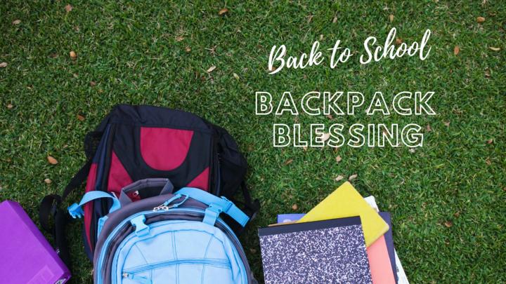 Backpack Blessing logo image
