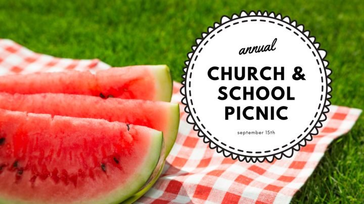 Annual Church & School Picnic logo image