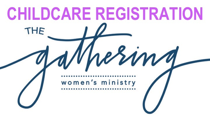 Childcare Registration for The Gathering Fall 2019 logo image