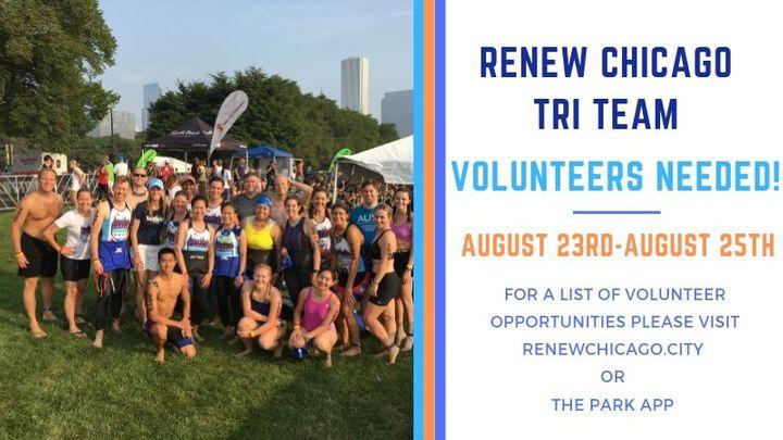 Renew Chicago Triathlon Volunteer logo image