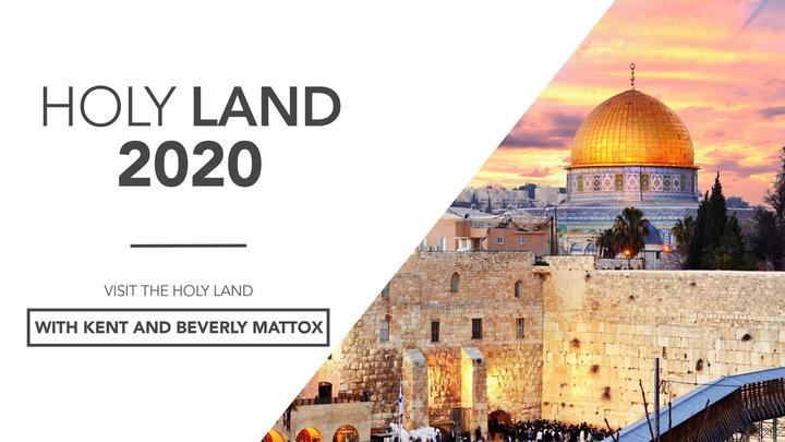 Israel Holy Land Tour 2020 logo image