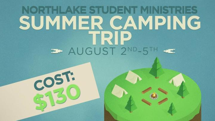 Student Ministries Summer Camping Trip logo image