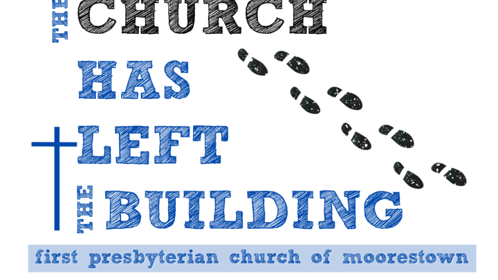 """The Church Has Left the Building""  logo image"