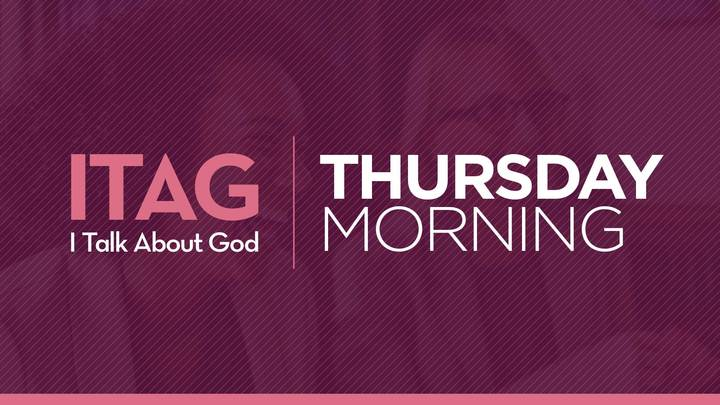 "Women's ITAG Thursday Morning Fall Study - ""Unshakable Hope"" - Community Center Room 203 logo image"