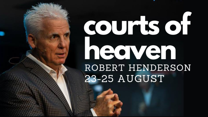 Courts of Heaven Weekend Seminar with Robert Henderson Actions logo image