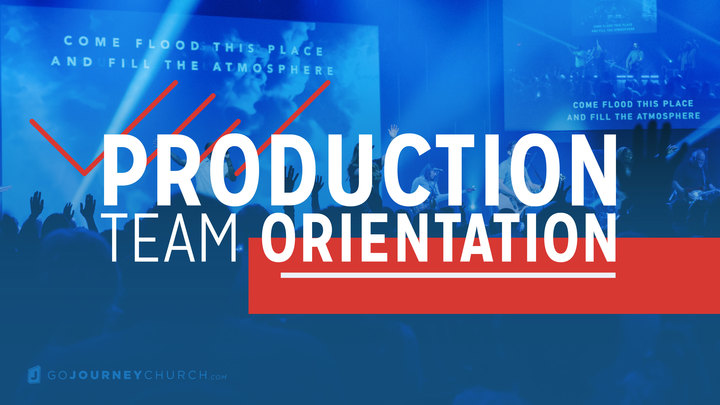 Production Team Orientation | October logo image