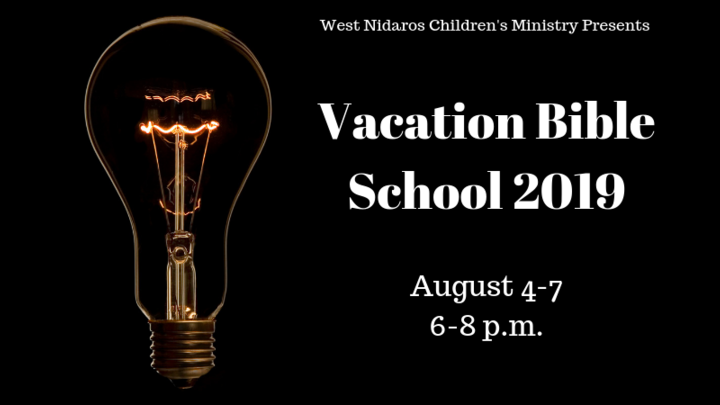 Vacation Bible School 2019 logo image