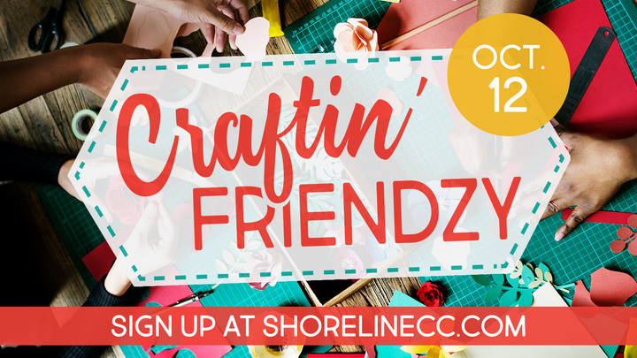 Fall Craftin' Friendzy logo image