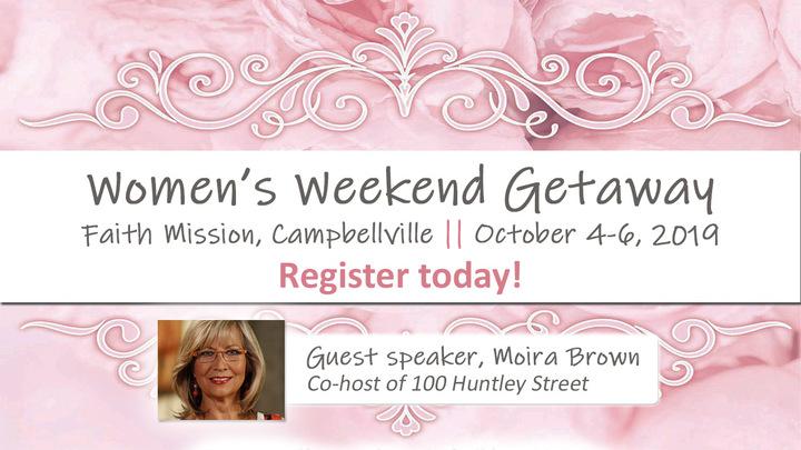 Women's Weekend Getaway logo image