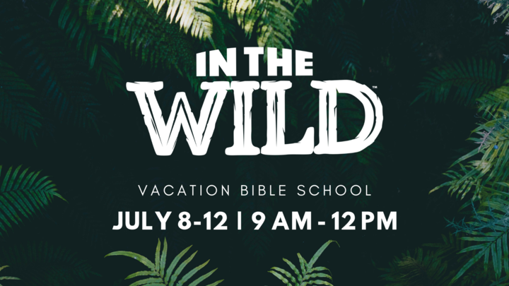 """In the Wild"" Vacation Bible School logo image"