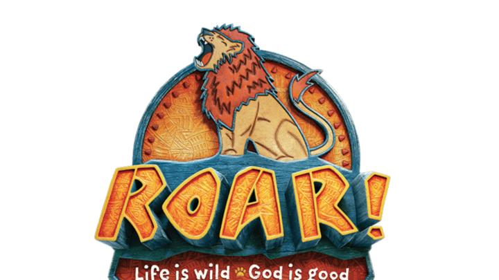 ROAR! Vacation Bible School (June 24-28) logo image