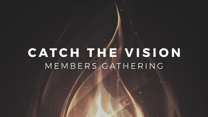 Catch the Vision Members Gathering logo image