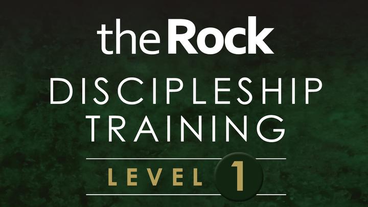The Rock Discipleship - Level One logo image
