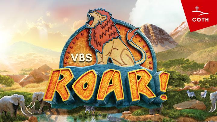 """VBS """"Roar!"""" WAITLIST logo image"""