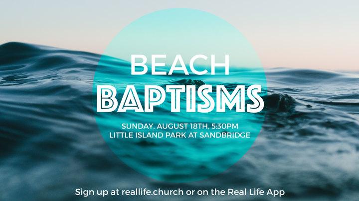 Beach Baptisms logo image