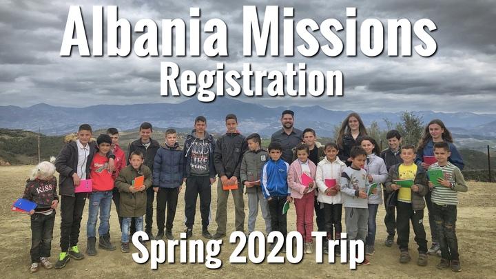 Albania Missions - Trip Registration logo image