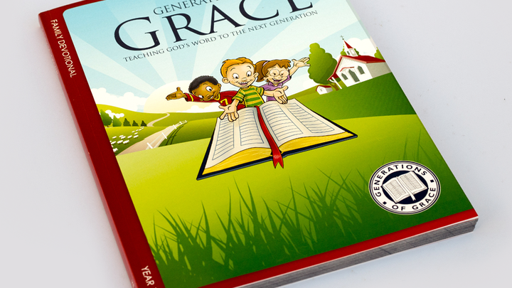 Generations of Grace Family Devotional logo image