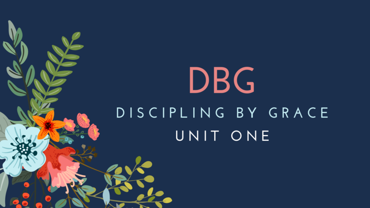 Discipling By Grace (DBG) - Women's Ministry logo image