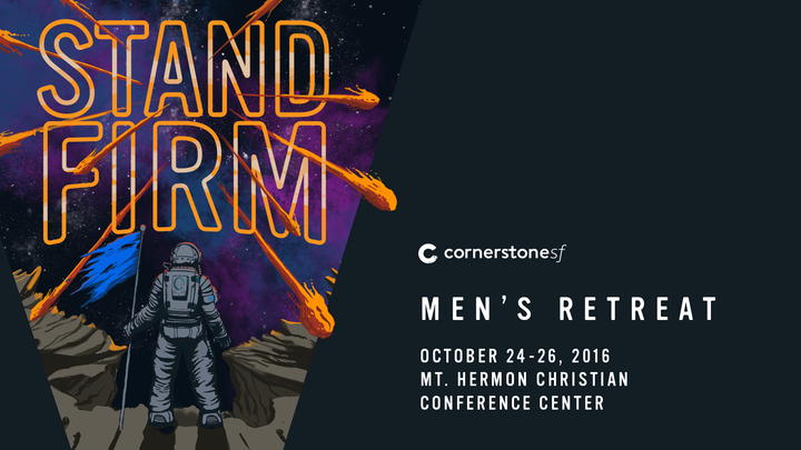 2019 Men's Retreat:  Stand Firm logo image