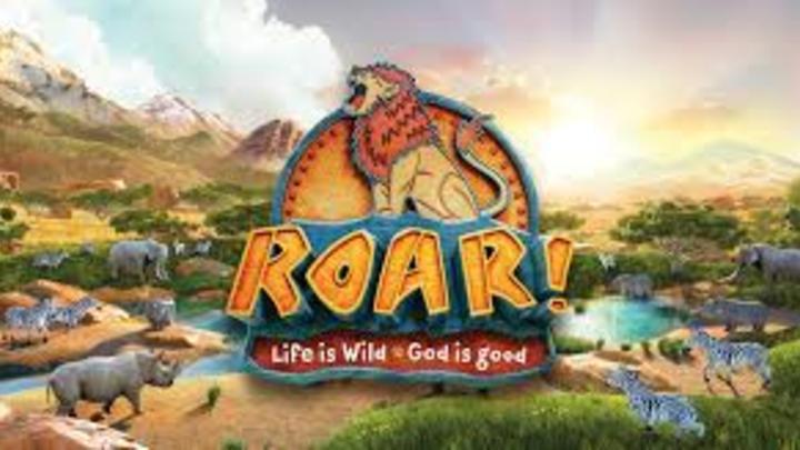 VBS 2019- ROAR! logo image