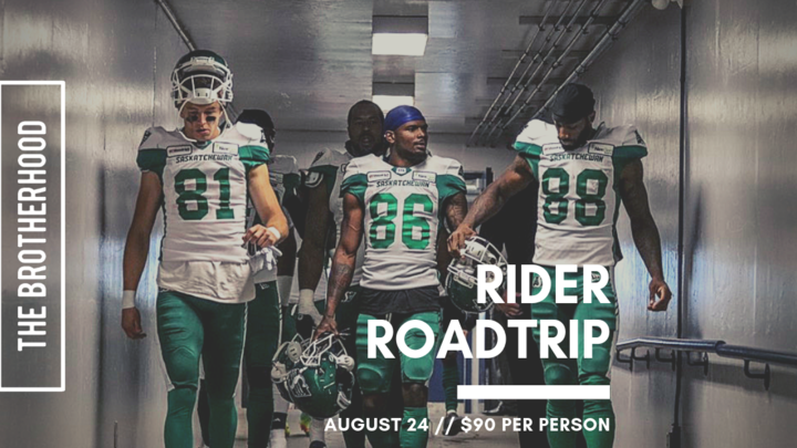 The Brotherhood Rider Roadtrip to Mosaic Stadium logo image