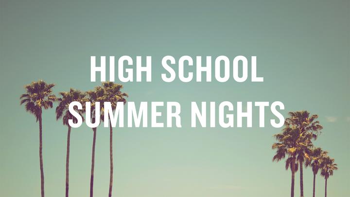 High School Wednesday Nights Summer Edition  logo image