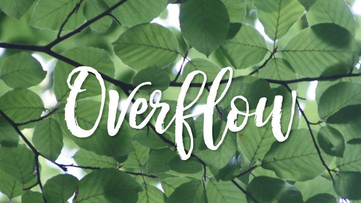 Overflow | Latreía Worship Team  logo image