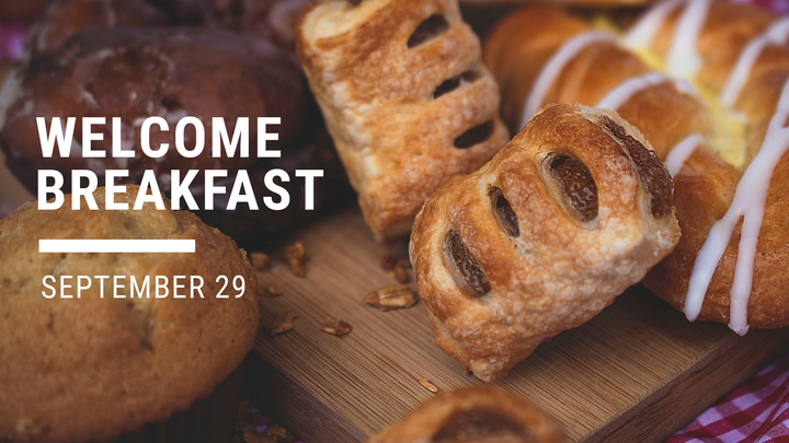 Welcome Breakfast -  September 29, 2019 logo image