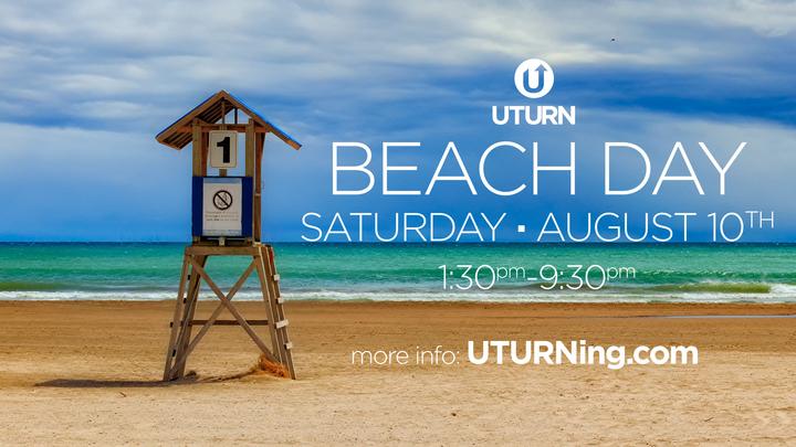 UTURN | Beach Day logo image