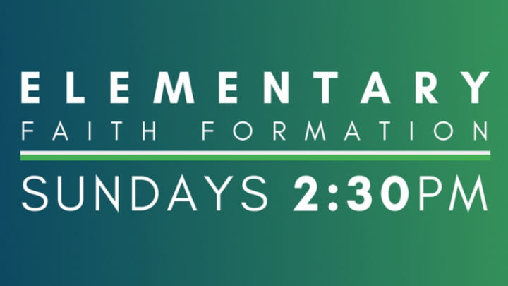 Sunday 2:30 Elementary Faith Formation logo image