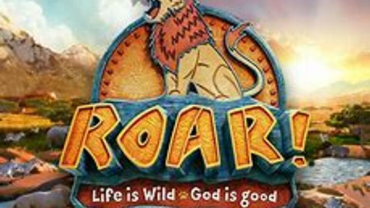 ROAR! Kids Camp and S'More Family Camp logo image