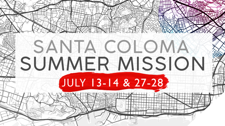 Santa Coloma Summer Mission logo image