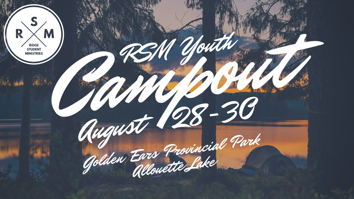 Youth Campout! logo image