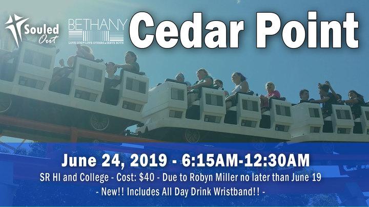 SR HI/COLL Cedar Point logo image