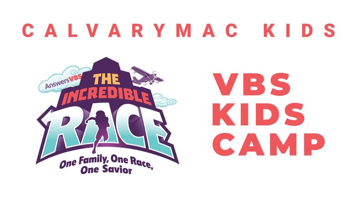VBS Kids Camp logo image