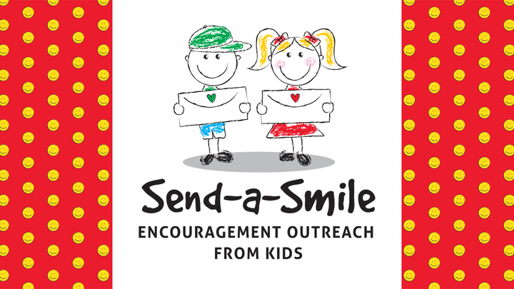 Send-A-Smile Encouragement Outreach From Kids logo image