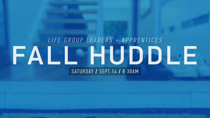 LIfe Group Leader Huddle logo image