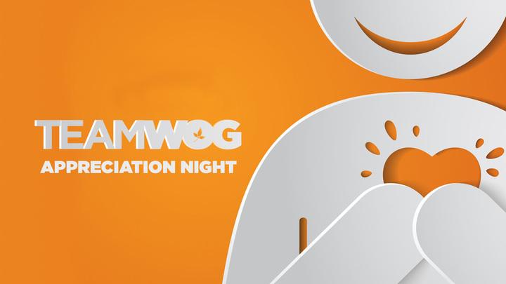 TeamWOG Appreciation Night logo image