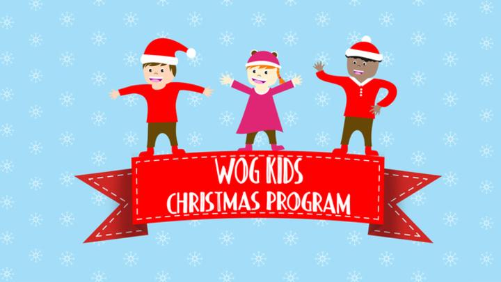 Children's Christmas Program during Services logo image