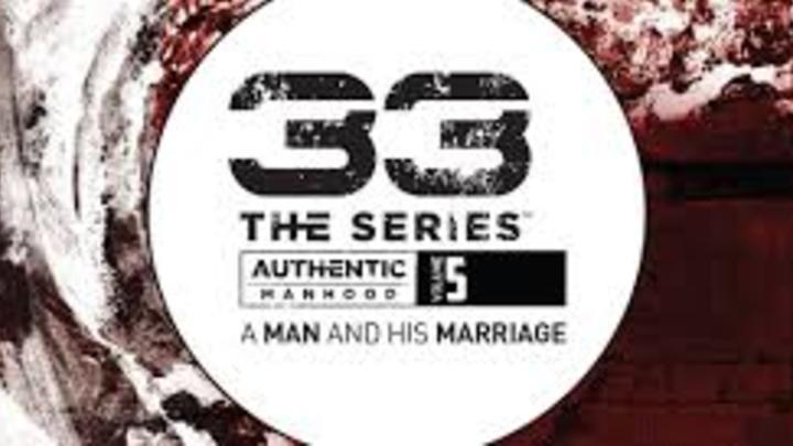 33 Authentic Manhood Study logo image