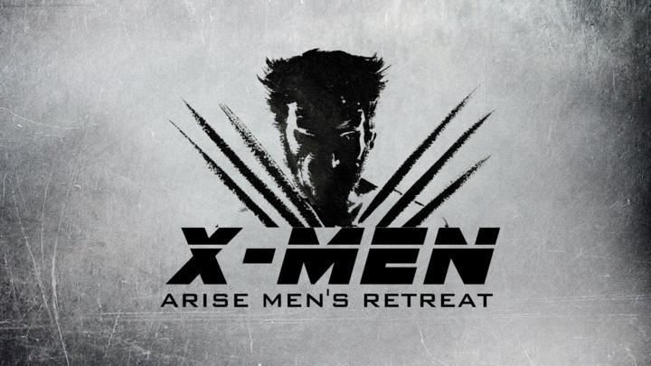 "Men's Retreat ""X-Men"" logo image"