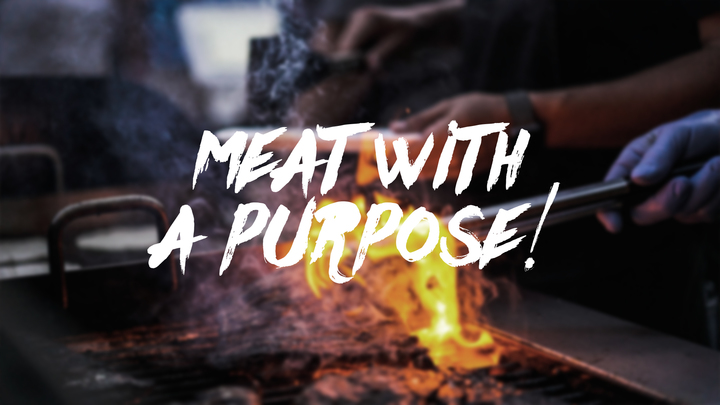 Meat with a Purpose logo image