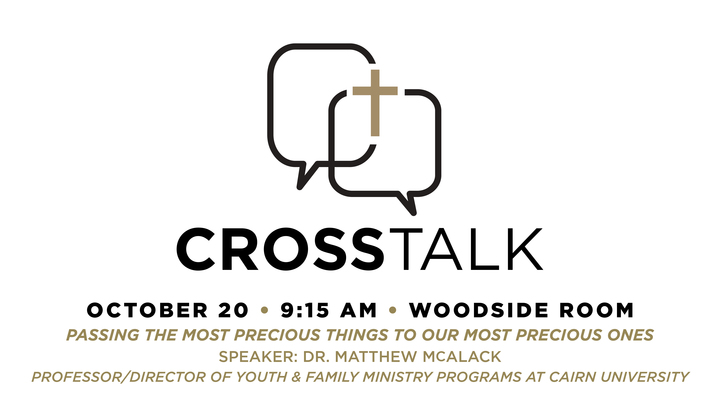 CrossTalk – Parenting and Youth Culture logo image