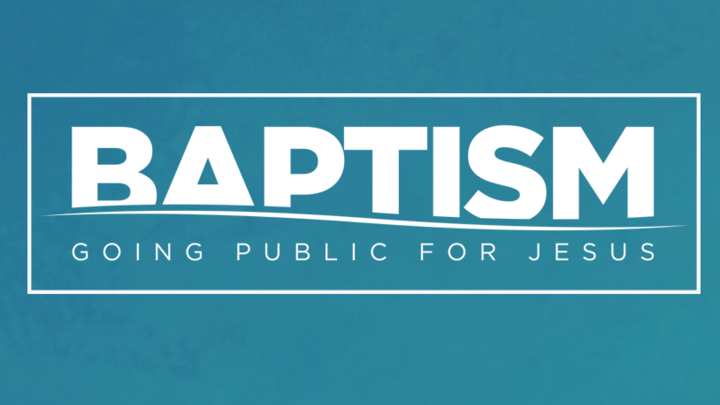Baptism - November 2 & 3, 2019 logo image