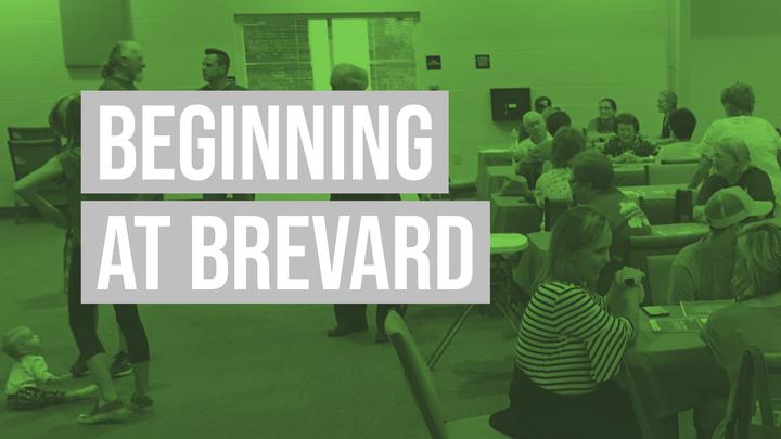 Beginning at Brevard  logo image